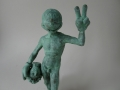 Lessons of adolescence # David, Bronze, Edition 5 + 1 ap, ca. 20 cm high