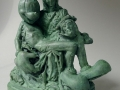 Lessons of adolescence # Thinker, Bronze, Edition 5 + 1 ap, ca. 20 cm high #Piëta